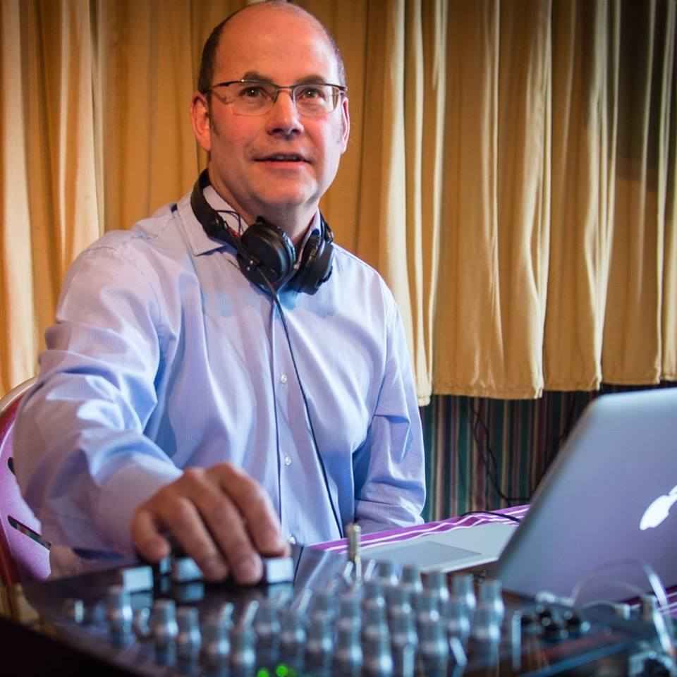 Paul Strudwick DJ picture by Roger Fickling
