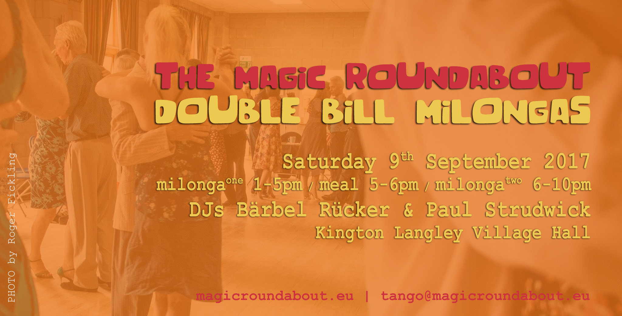 The Magic Roundabout Double Bill Milongas