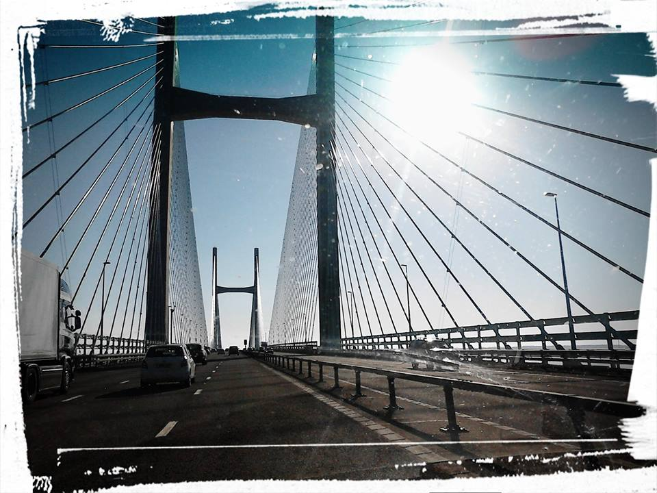 The Old Severn Bridge.