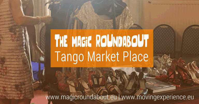 The Magic Roundabout Tango Marketplace flyer August 2018.