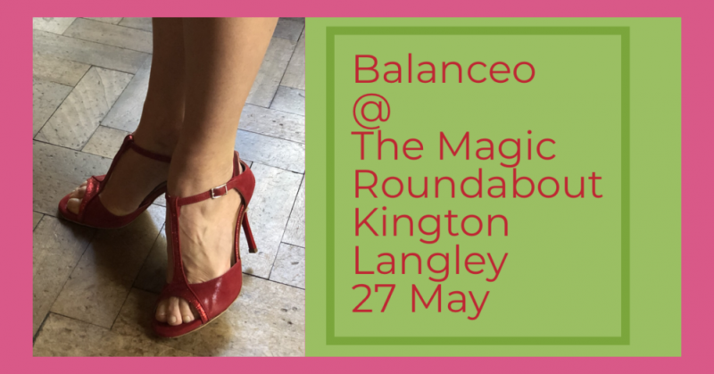 Balanceo Shoes at The Magic Roundabout