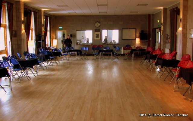 The Magic Roundabout at Kington Langley Village Hall in Kington Langley, Wiltshire.