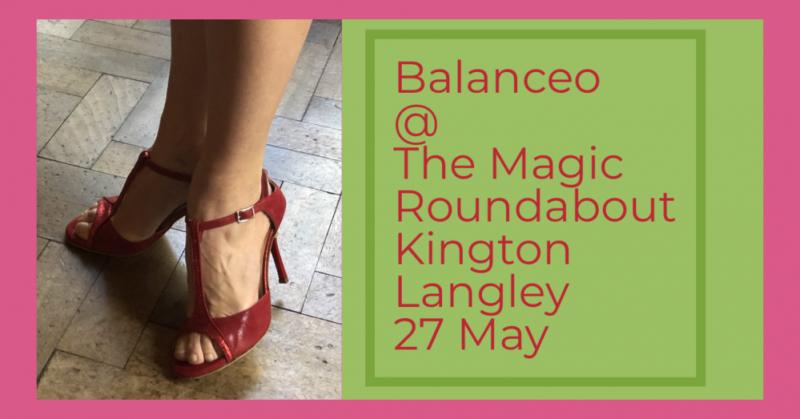 Balanceo Shoes at The Magic Roundabout