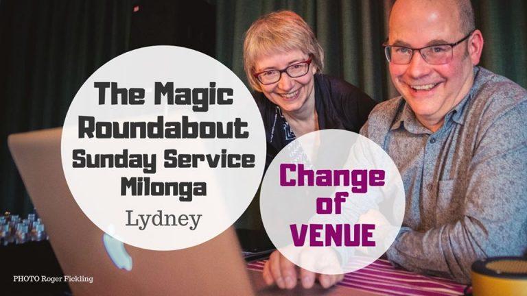 Sunday Service change of venue